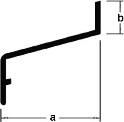 Z-Profil Z 30 / 10