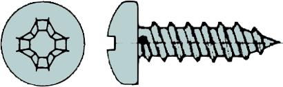 Blechschrauben DIN 7981