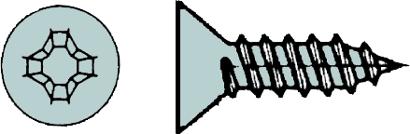 Blechschrauben DIN 7982