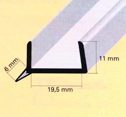 Sockel-U-Profil