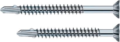 Balkonbrett-Flügelbohrschrauben