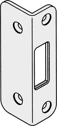 Winkelschließplatten zu Secury MR