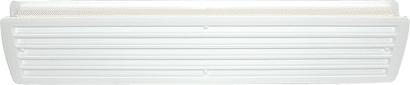 Exklusiv-Lüftung Kunststoff 457 x 92 mm