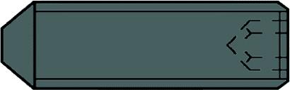 DIN 914 45 H Gewindestifte mit Spitze, mit Innensechskant