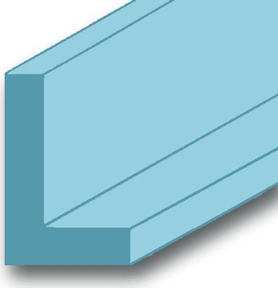 Winkelprofil Aluminium blank