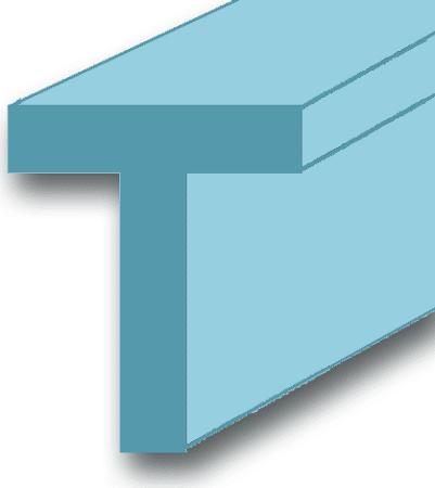 Aluminium-T-Profil