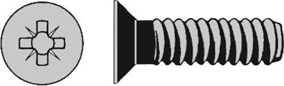 Senkkopfgewindeschraube DIN 965