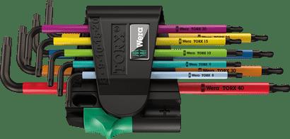 Winkelschlüsselsatz BlackLaser 967 SPKL/9 TORX