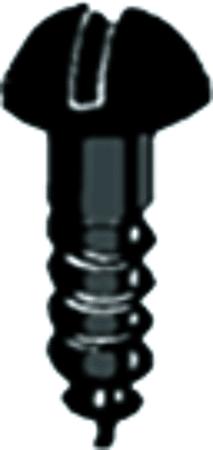 Holzschraube Halbrundkopf Schlitz