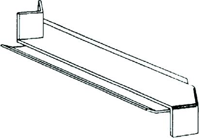 Außeneckverbinder H1 für Tropfnase 40 mm