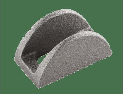 Kurvenstücke für Zuganker