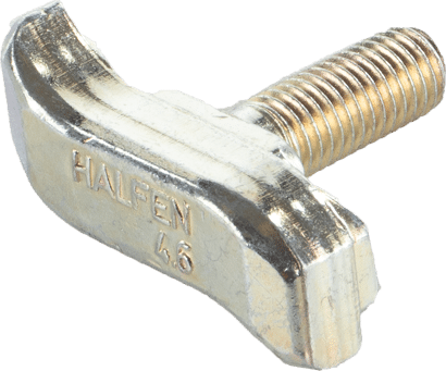 Hakenkopf-Schraube Typ 50/30 galv. verzinkt