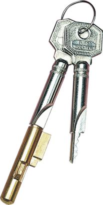 Zylinder Schlüssellochsperre