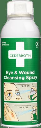 Reinigungsspray für Augen und Wunden