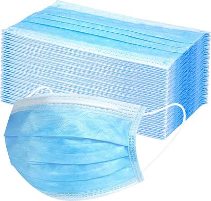 Einwegmaske mit elastischer Ohrschlaufe