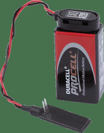 Not-Energieset mit Batteriepack und Kabel
