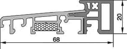 Renovierungs-Bodenschwelle HTS9.1.1