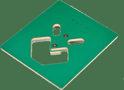 Oberfrässchablone für Ineck Maxi