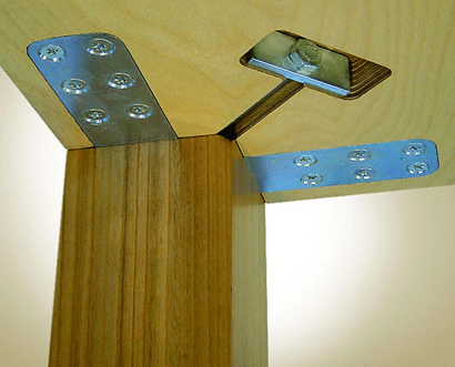 Tischfußbefestigung Ineck Mini