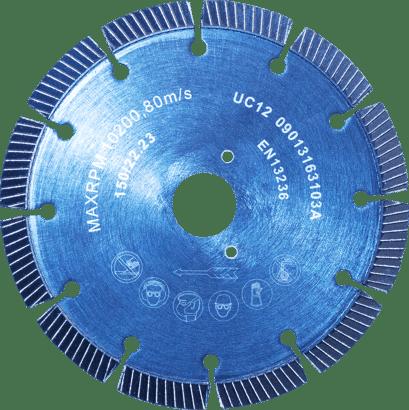 Diamant-Trennscheibe Abrasiv für Popp Montagefräse MF 150