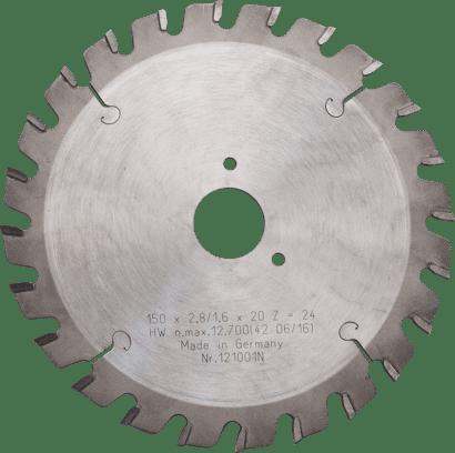Hartmetall-Sägeblatt für MF 150-47 C Plus