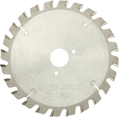 Hartmetall-Sägeblatt für MF 150-47