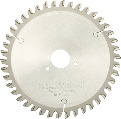 Hartmetall-Sägeblatt für Popp Montagefräse MF 150