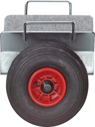 Plattenklemmwagen Luftbereift