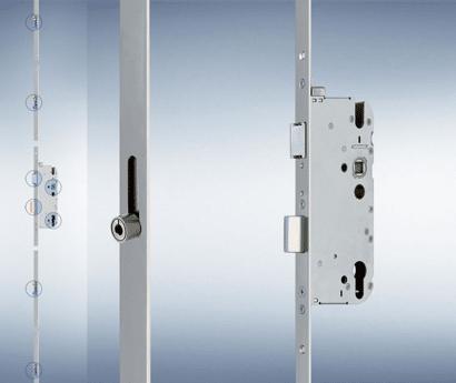 Secury Mehrfachverriegelung R4 (4 Rollzapfen)