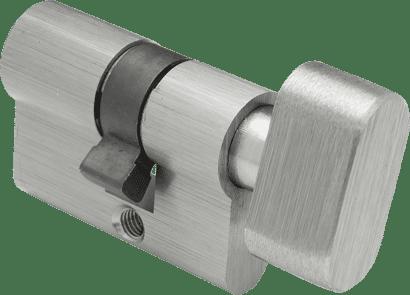 Knaufzylinder für Glastürbeschlag