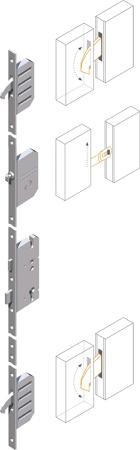 Mehrfachverriegelung MFV2 mit Sperrbügel