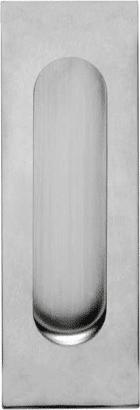 Schiebetürmuschel Edelstahl quadratisch