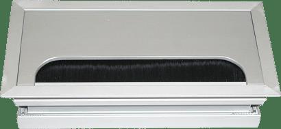 Kabeldurchlass Aluminium eckig