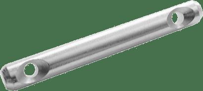 Stahldübel  Ø 10 mm für Mittelwand