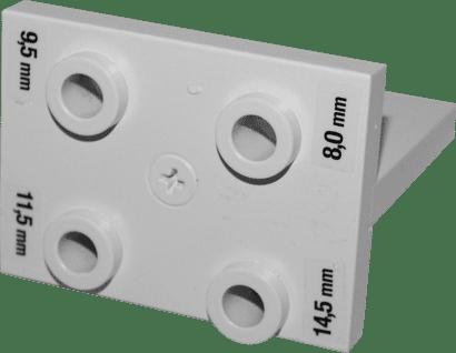 Bohrlehre für PV-Verbinder