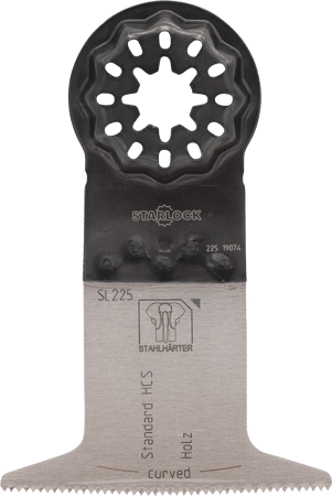 E-Cut Standard-Sägeblatt HCS curved 50x65mm SL
