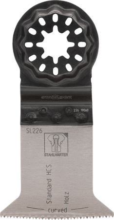 E-Cut Standard-Sägeblatt HCS curved 50x50mm SL