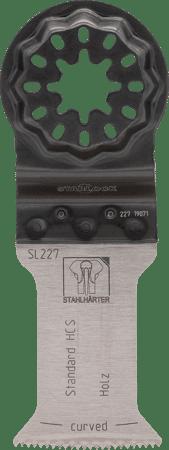 E-Cut Standard-Sägeblatt HCS curved 55x35mm SL