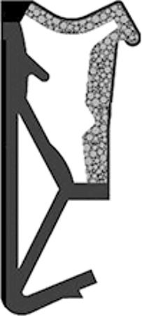 Fensterdichtung Typ SP125