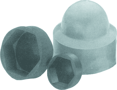 Sechskant-Schutzkappen aus Kunststoff