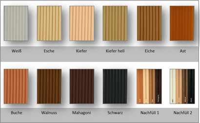 Wood Repair Thermelt Astfüller