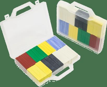 Trage-Montageklötze-Set im Koffer
