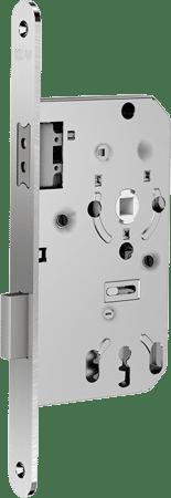 Magnet-Einsteckschloss für gefälzte Türen