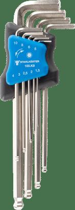 Sechskant-Stiftschlüssel-Satz mit Kugelkopf