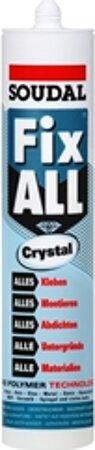 Hybrid-Polymer Kleber Fix ALL CRYSTAL 290ml kristallklar