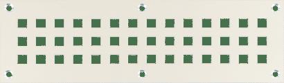 Lüftungsblech mit 4kant-Lochung