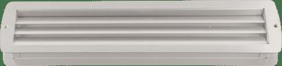 Exklusiv-Lüftung Aluminium 457 x 92 mm