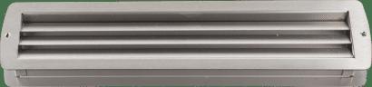 Exklusiv-Lüftung Edelstahl 465 x 105 mm