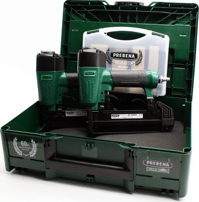 Druckluftnagler-Set im Systainer (2P-ES40SDS/2J-50SDS/ES-BOX/J-BOX)