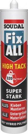 Hybrid-Polymer Konstruktionskleber Fix ALL HIGH TACK 290ml